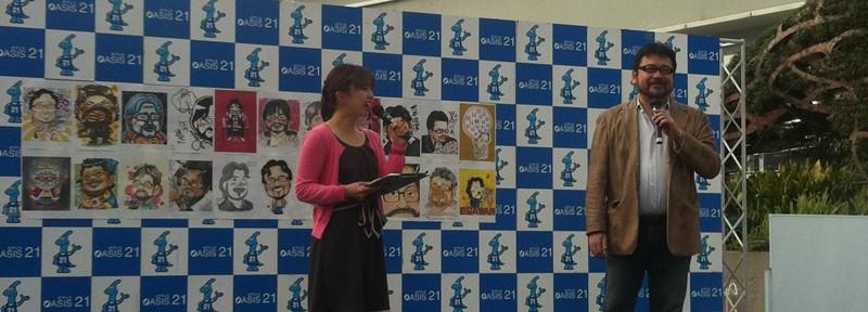 似顔絵楽座(席描き日本一を決める大会)で思った。大会も組織も評価制度が文化を作る。