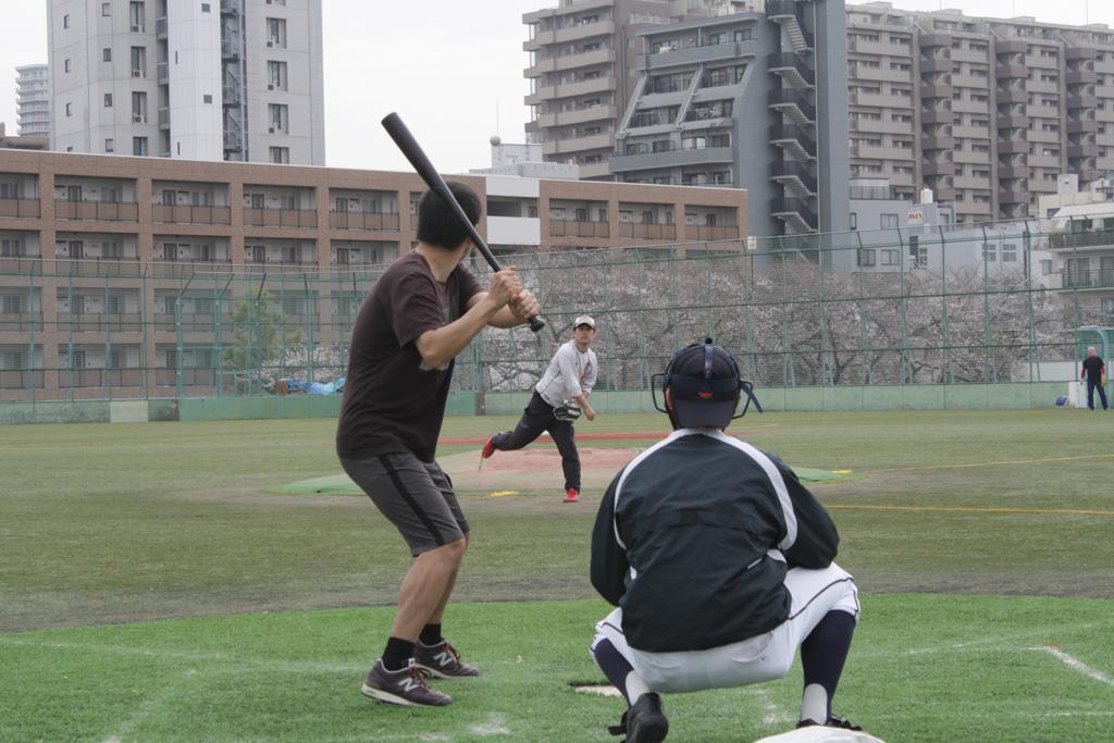 野球バトル - ピッチャー中谷